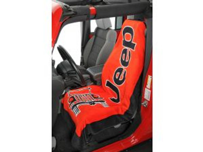 Jeep TOWEL-2-GO Red Car Seat Cover Towel