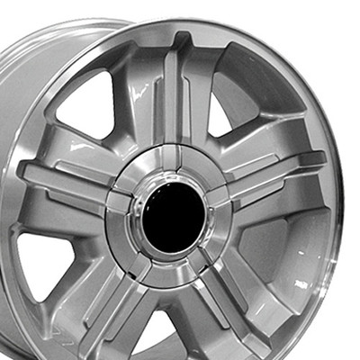 "18"" Fits Chevrolet - Z71 Wheel - Silver 18x8"