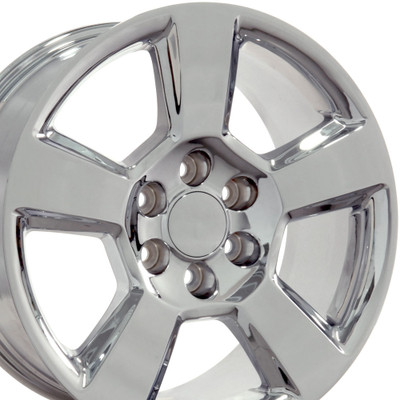 "20"" Fits Chevrolet - Tahoe Wheel - Chrome 20x9"