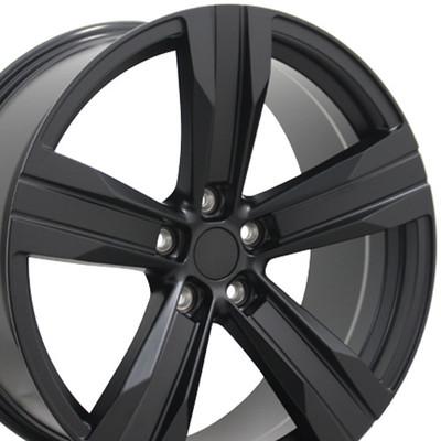 "20"" Fits Chevrolet - Camaro ZL1 Wheel - Matte Black 20x9.5"
