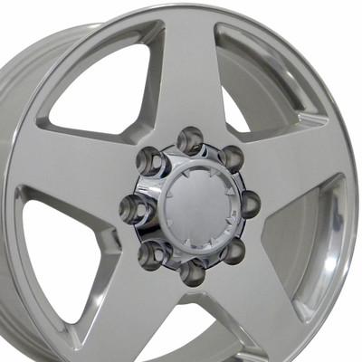 """20"""" Fits Chevrolet - Silverado Wheel - Polished 20x8.5"""