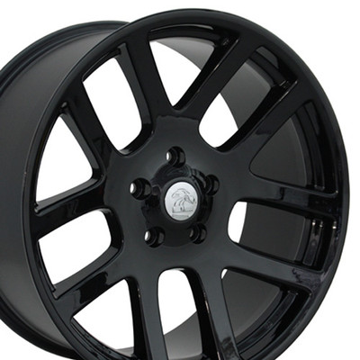 "22"" Fits Dodge - Ram SRT Wheel - Black 22x10"
