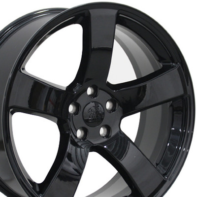 "20"" Fits Dodge - Charger Wheel - Black 20x8"