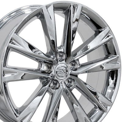 "19"" Fits Lexus - RX 350 F Sport Wheel - Chrome 19x7.5"