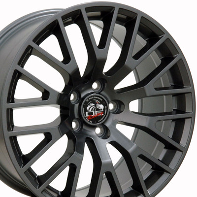 "18"" Fits Ford - 2015 Mustang GT Wheel - Gunmetal 18x9"