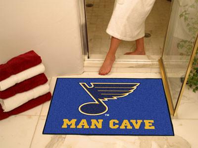 St Louis Blues Man Cave Mat