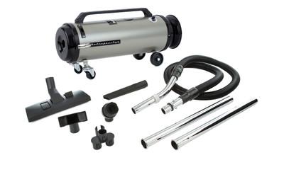 Professional Evolution Full-Size Canister Vacuum ADM4SNBFVC Satin Nickel / Black Finish