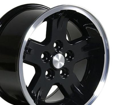 "15"" Fits Jeep - Wrangler Wheel - Black 15x8"