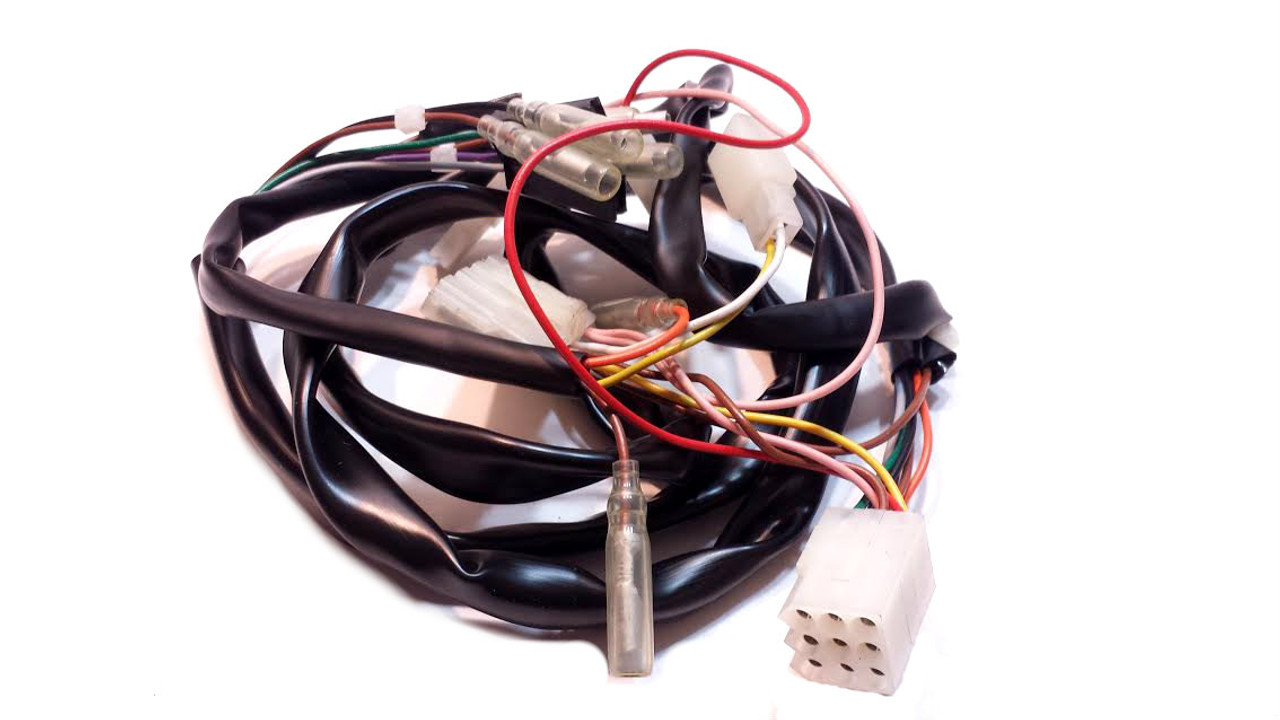 tomos original a35 wiring harness for revival moped division rh mopeddivision com  tomos moped wiring