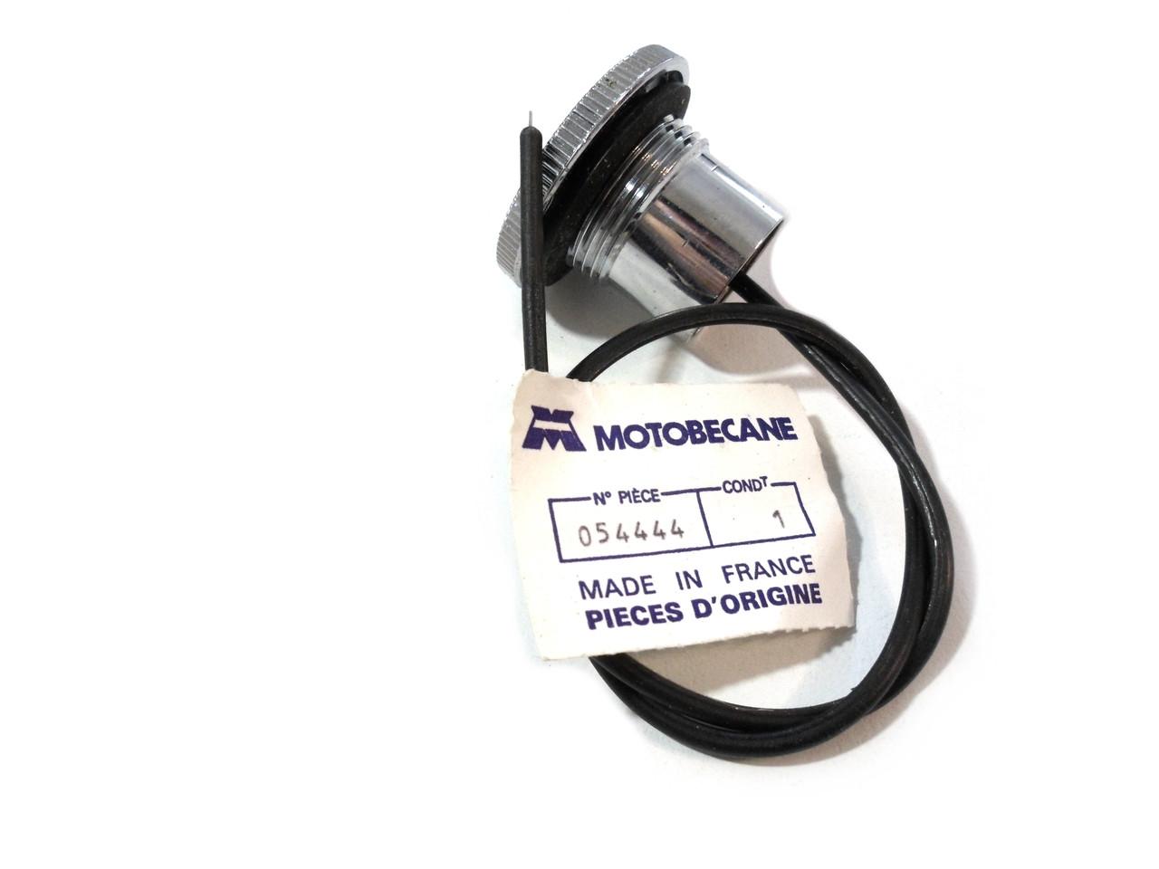 Original Motobecane Gas / Fuel Cap for 40 / 50 models - Chrome