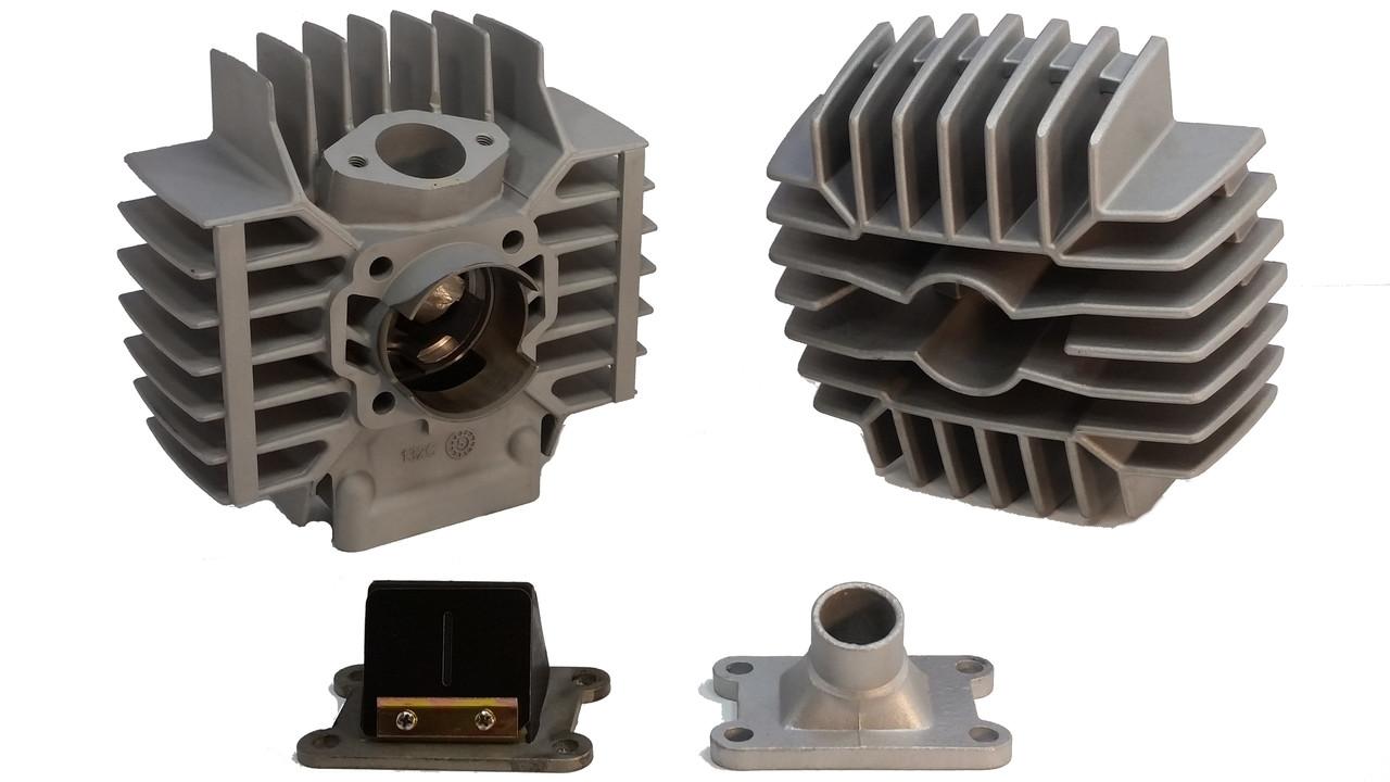 Puch 74cc Gilardoni Cylinder Kit W Head Reed Block Intake Za50 Wiring Diagram