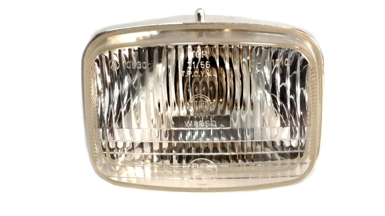 "NOS Niox Headlight for Puch Dart ""Mini Maxi"", Pearly Moped"
