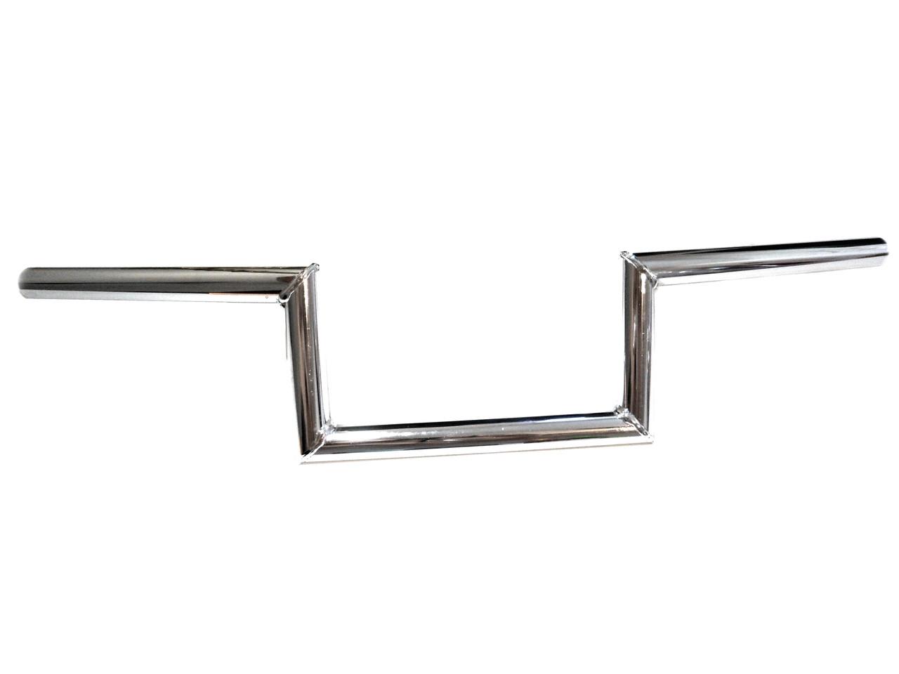 Universal Chrome Moped Handlebars - ZZ Top Bars