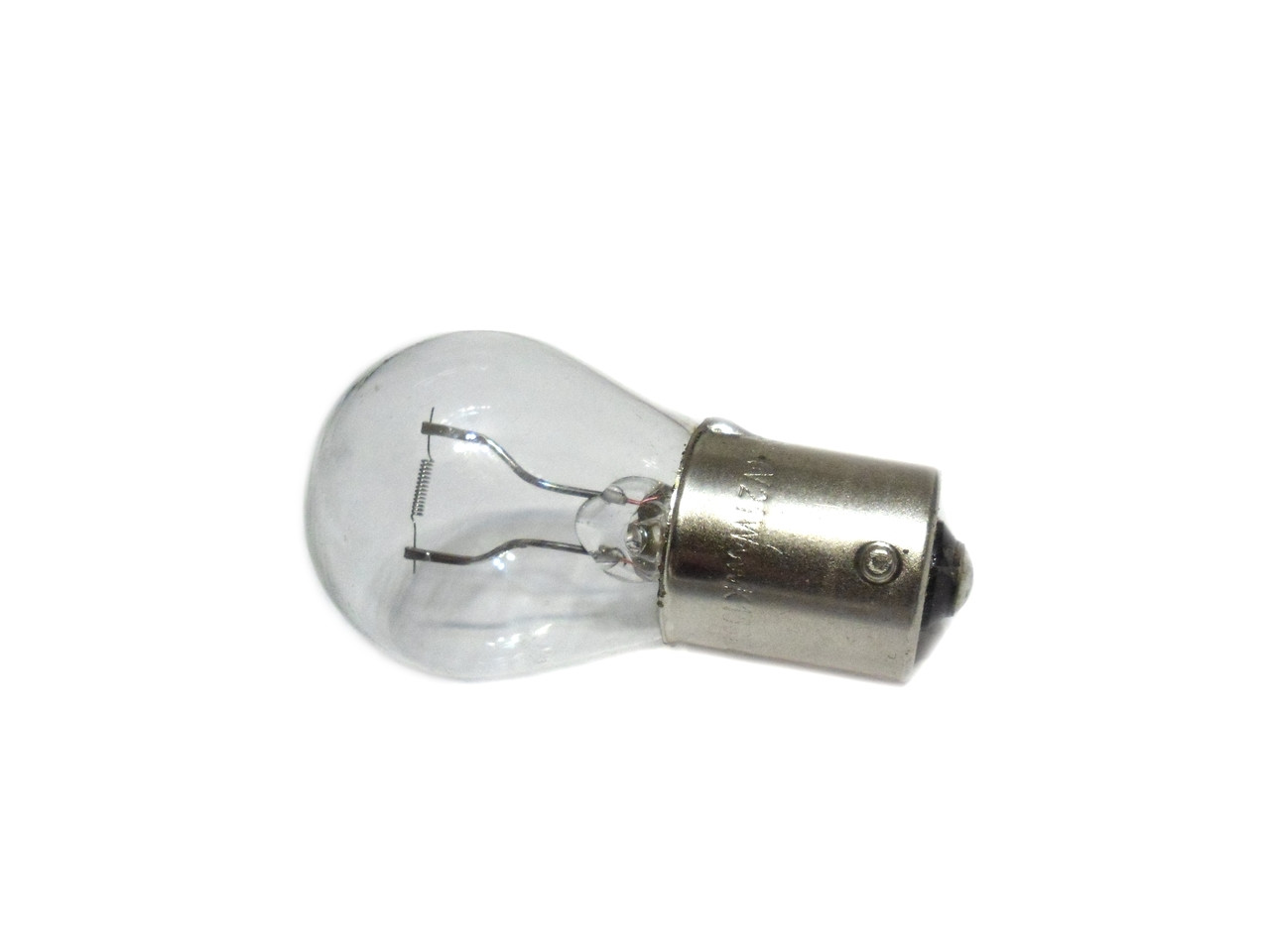 6Volt 21Watt  Light Bulb *BA15s  / 1156 Base* Larger Glass Dome