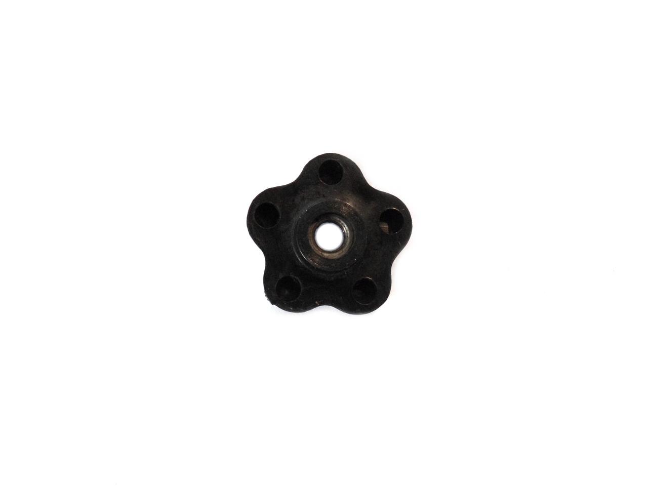 M6 Retro Black Flower Cable Adjuster Knob *Sold Each*