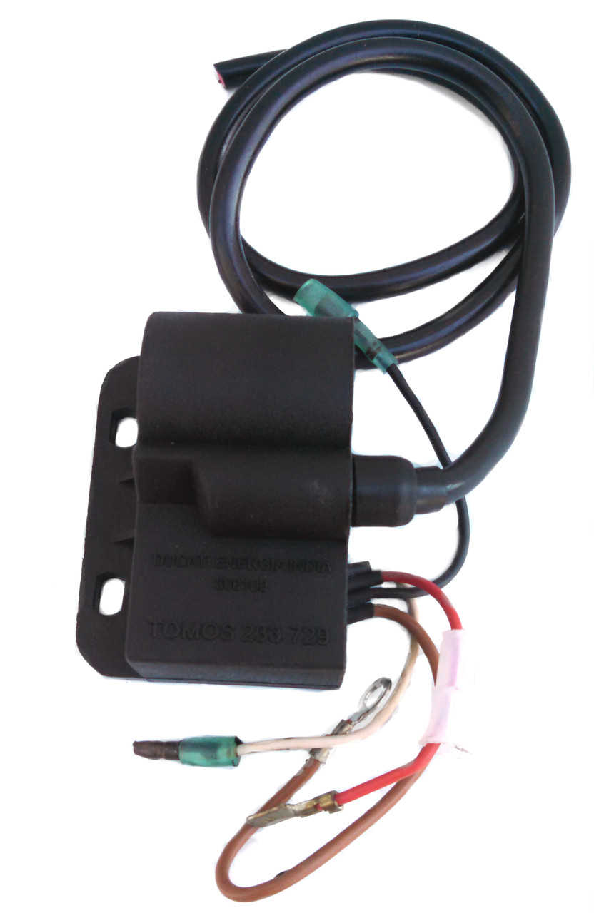 tomos a55 ignition coil cdi 4 wire moped division. Black Bedroom Furniture Sets. Home Design Ideas