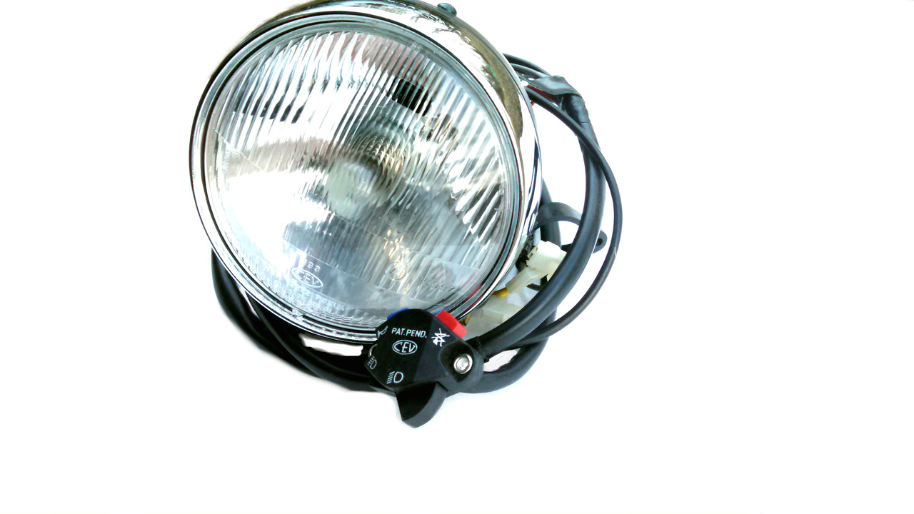 nos foxi ktm moped cev headlight and wiring harness. Black Bedroom Furniture Sets. Home Design Ideas