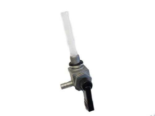 Motobecane OMG 10mm Left Flow Petcock - Black Handle