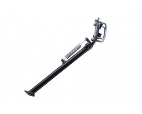 "Tomos Style Black Kickstand for Square swing arms.  7.5"" Long"