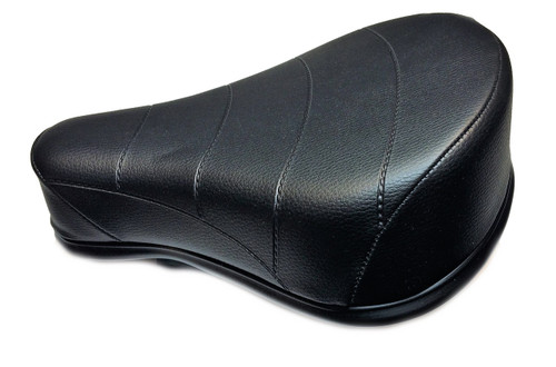 Black Single Seat with Tool Box