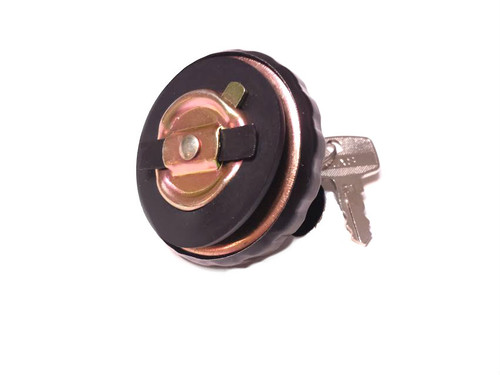 30mm Black  Locking Gas Cap, For Step Thru Mopeds
