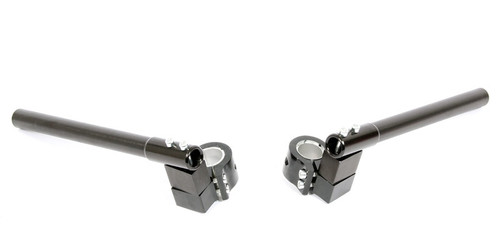 Aluminum Clip-on Handlebars for Mopeds and Motorcycles, 28mm or 32mm