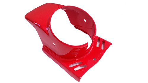 NOS Puch Macho  Round Headlight Moped Fairing - Red