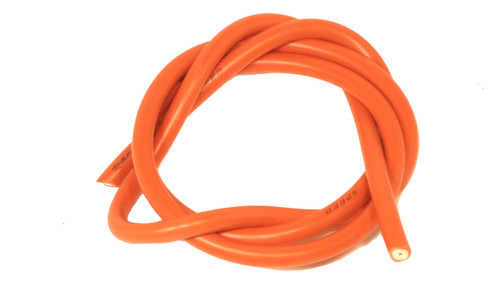 7mm Orange Performance Spark Plug Wire - 3.2 Feet