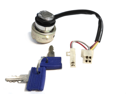 NOS Avanti Moped Ignition With key set / Two connector version