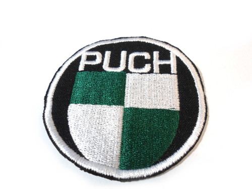 Medium Fabric Puch Logo Patch - 59mm
