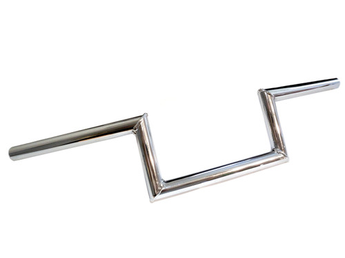 Universal Chrome Moped Handlebars - ZZ Top Bars