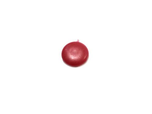 Original Leleu Brake Check Hole Plug / Cap - Red