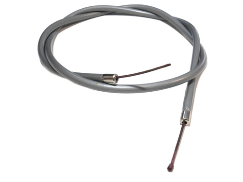 NOS Universal Short Moped Throttle Cable - Grey