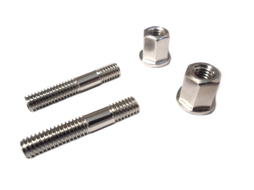 Universal Exhaust Hardware Kit - (2) Studs + (2) Nuts