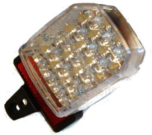 Universal LED Clear Moped Tail light