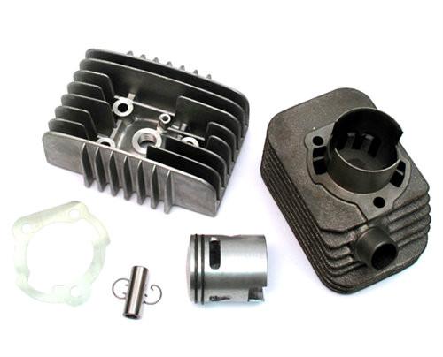 65cc Polini Cylinder Kit with Bravo Head,  Vespa, Piaggio, Kinetic, 12mm pin