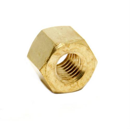 Tall Brass Intake / Exhaust Nut M6 x 8mm  (SOLD EACH)