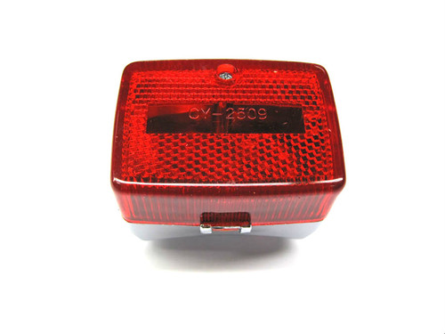 Mini Rear Taillight  *New Style*  Chrome
