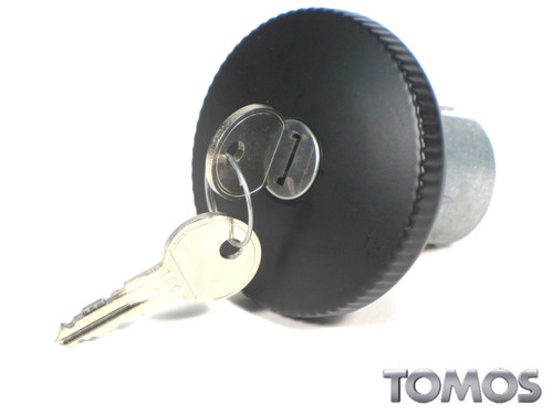 Tomos OEM Black Gas Cap for Targa LX and other Top Tank Mopeds 229545