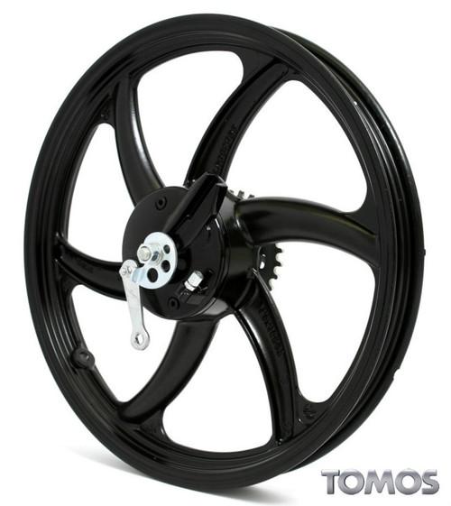 "16"" Black Rear Wheel Tomos Streetmate  237004"