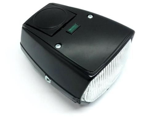 Black Euro Style Headlight