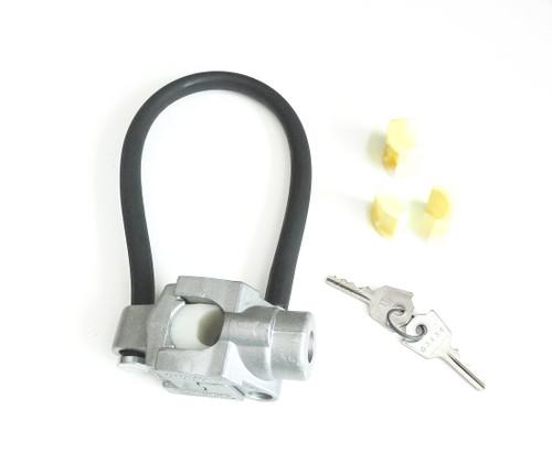 Universal Moped  Anti-Theft Device or Helmet Lock