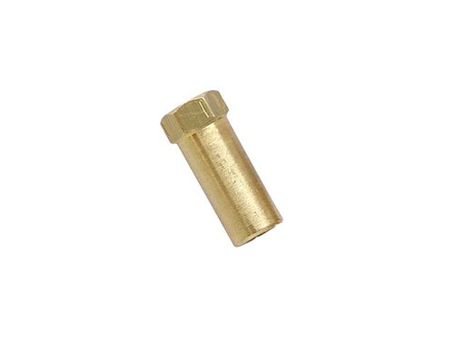 Extra Tall Brass  Exhaust Nut M6 x 25mm  (SOLD EACH)