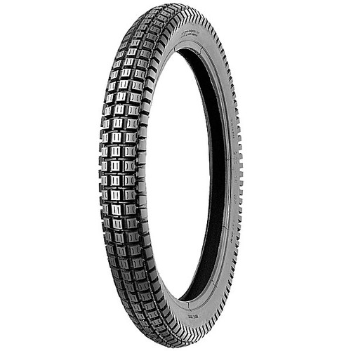 Shinko SR241 3.00 x 16 Trials style tire.