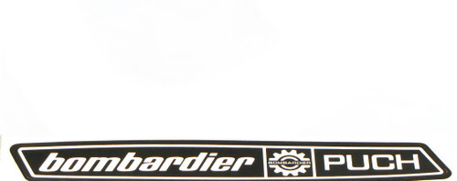Puch Bombardier Moped NOS Decal  *Left Side*