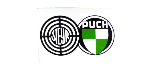 Steyr-Daimler-Puch Logo Decal