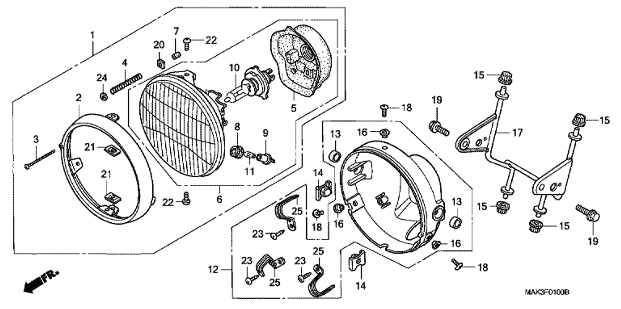 honda headlight diagram best place to find wiring and datasheet
