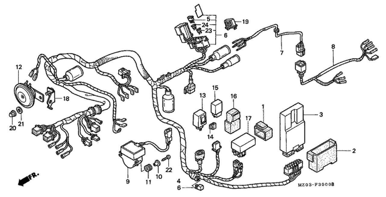 honda valkyrie fuse box wiring schematic diagramhonda valkyrie fuse box location simple wiring diagram site 95 honda fuse box diagram honda valkyrie