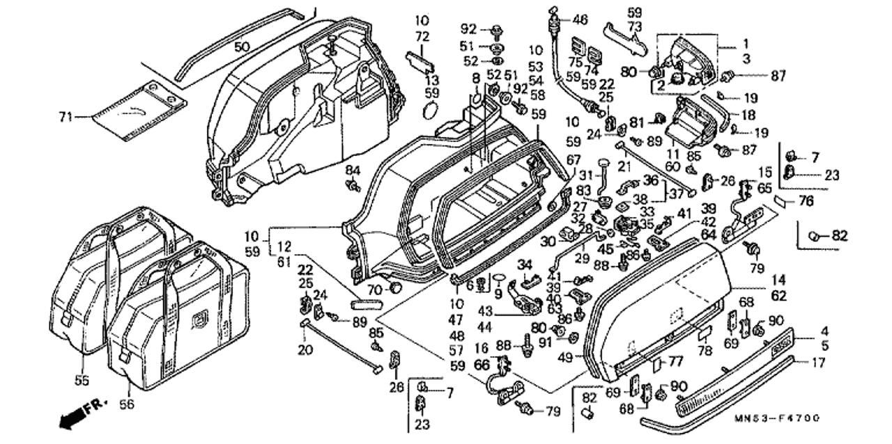 1988 Goldwing Wiring Diagram