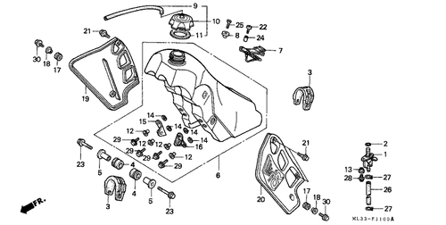 Genuine Honda VFR1200F Dual Clutch 2012 Low Seat Part 1